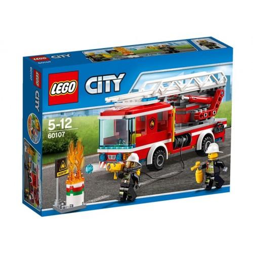 LEGO Camion de pompieri cu scara - LEGO 60107 (City)