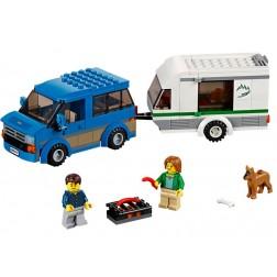 LEGO Furgoneta si rulota - LEGO 60117 (City)