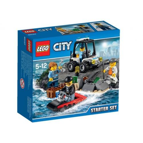 LEGO Set pentru incepatori - Inchisoarea de pe insula - LEGO 60127 (City)