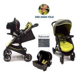 Carucior transformabil Graco FastAction Fold 2.0 TS Sport - Lime
