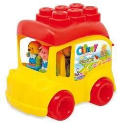 Autobuz Scolar Cu 12 Cuburi - Clemmy