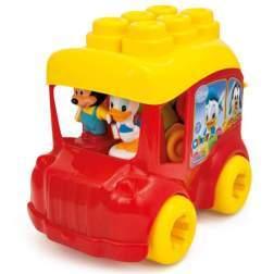 Autobuz Mickey Cu Cuburi - Clemmy