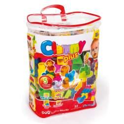 Plasa Cu 50 Cuburi Si 5 Figurine - Clemmy
