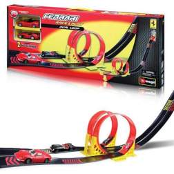 FERRARI 1:43 DUAL LOOP PLAY SET