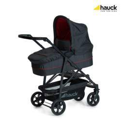 Carucior 3 in 1 Hauck Rapid 4 Plus Trio Set - Caviar/Tango