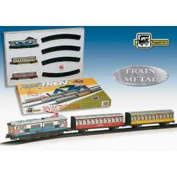 Trenulet electric - calatori (colorat)