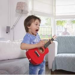 Chitara copii New Classic Toys rosie