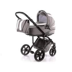 Carucior 2 in 1 cu landou Knorr-Baby Volkswagen Carbon Optik Grey