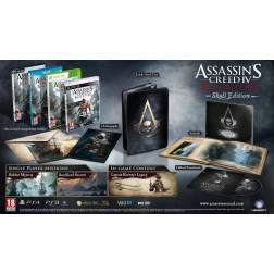 ASSASSINS CREED 4 BLACK FLAG SKULL EDITION - WII U