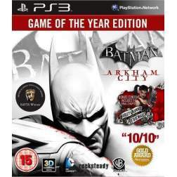 BATMAN ARKHAM CITY GOTY - PS3