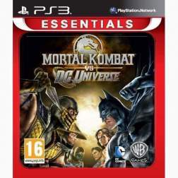 MORTAL KOMBAT VS DC UNIVERSE PS3 ESSENTIALS - PS3