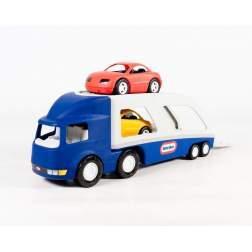 Masinuta de exterior Little Tikes - Transportor de masini albastru