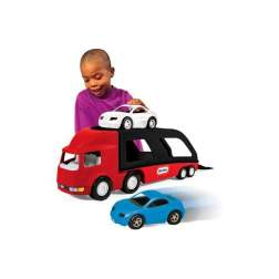 Masinuta de exterior Little Tikes - Transportor de masini rosu