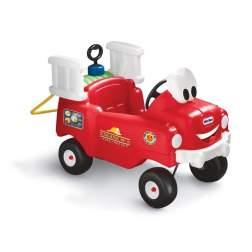 Masinuta de exterior cu pedale Little Tikes Cozy - Camion de pompieri