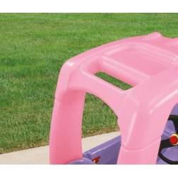 Masinuta de exterior cu pedale Little Tikes Cozy - Camion printesa