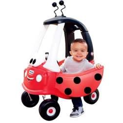 Masinuta de exterior cu pedale Little Tikes Cozy - Coupe gargarita