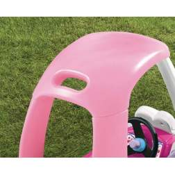 Masinuta de exterior cu pedale Little Tikes Cozy - Coupe roz