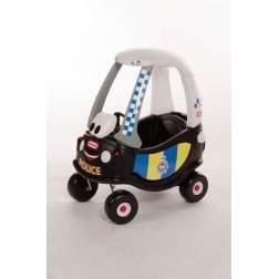 Masinuta de exterior cu pedale Little Tikes Cozy - Masina de politie