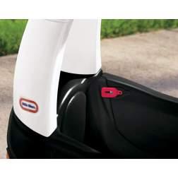 Masinuta de exterior cu pedale Little Tikes Cozy - Masina de politie, neagra