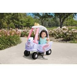 Masinuta de exterior cu pedale Little Tikes Cozy - Masina zana
