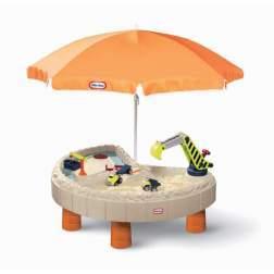 Masuta de joaca pentru exterior Little Tikess - Nisip si apa cu utilaje