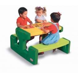 Masuta de joaca pentru exterior Little Tikess - Picnic, verde