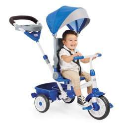 Tricicleta 4 in 1 Little Tikes - Perfect Fit Albastra