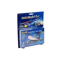 Aeromacheta Revell - Model Set Avion Boeing 747-200, scara 1:390
