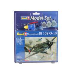 Aeromacheta Revell - Model Set Avion Messerschmitt BF-109, scara 1:72