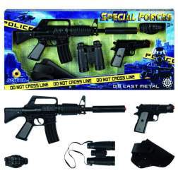 Set jucarie Armament Politie - Fortele Speciale - Gonher 446/6