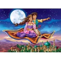 Puzzle Castorland - The Magic Carpet, 180 Piese