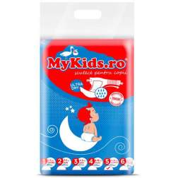 Scutece Copii MyKids New Junior 5 Junior (12-25 KG ) 50 Buc