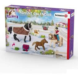 Set Figurine Schleich - Calendar Advent Cu Cai 2017 97447