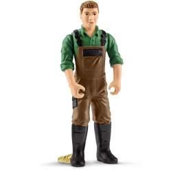 Set Figurine Schleich - Fermier Cu Capra 42375