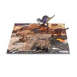 Set Figurine Schleich - Mini Dino + Puzzle Lava 42212