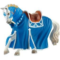 Figurina Bullyland - Cal pentru turnir, albastru