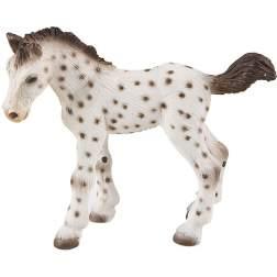 Figurina Bullyland - Manz cal Knabstrupper