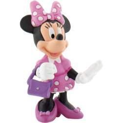 Figurina Bullyland Disney Classic - Minnie with bag