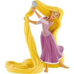 Figurina Bullyland Disney Rapunzel - Rapunzel cu perie