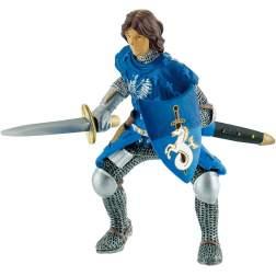 Figurina Bullyland - Cavaler cu sabie albastru