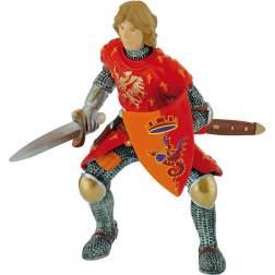 Figurina Bullyland - Cavaler cu sabie rosu