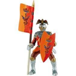 Figurina Bullyland - Cavaler pentru turnir rosu