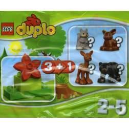 LEGO Animale din padure - LEGO 30217 (DUPLO)