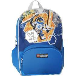 Rucsac LEGO Junior Nexo Knights, bleu