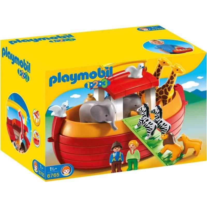 Playmobil 1.2.3 Arca Lui Noe Portabila (6765)