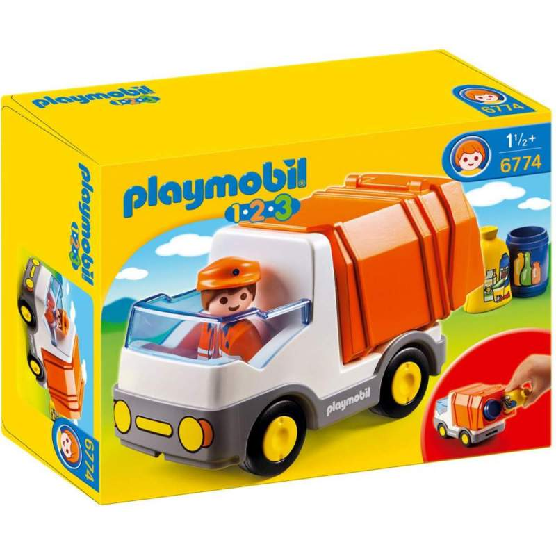 Playmobil 1.2.3 Camion Deseuri (6774)