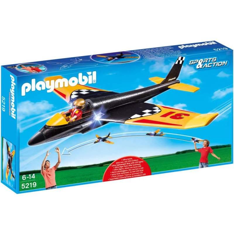 Playmobil Avionul De Curse Cu Lumini (5219)