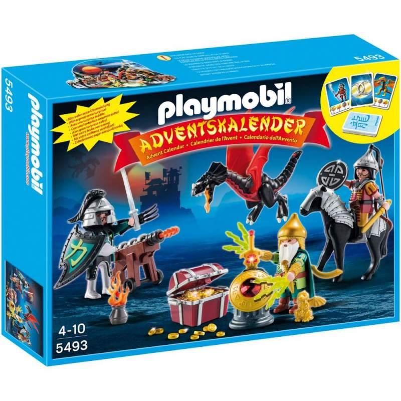 Playmobil Calendar Craciun - Batalia Dragonilor (5493)
