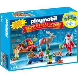 Playmobil Calendar Craciun - Depozitul Lui Mos Craciun (5494)