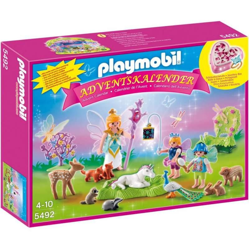 Playmobil Calendar Craciun - Tinutul Zanelor (5492)